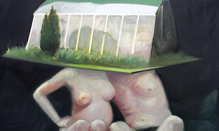 Skleníky akolotoč jako malířská vize Tomáše Tichého