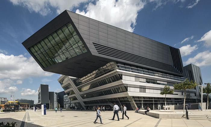 Studentský kampus WU Wien navrhlo šest architektů