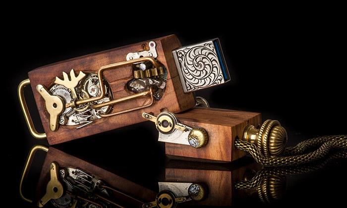 Big Wood Organic vyrábí ze dřeva šperky idoplňky