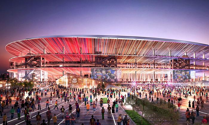 FC Barcelona ukázala nový stadion New Camp Nou