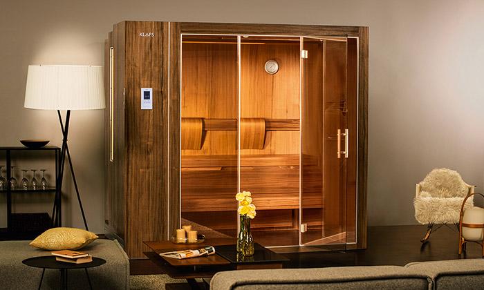 Klafs představil rozkládací sauny svelikostí knihovny