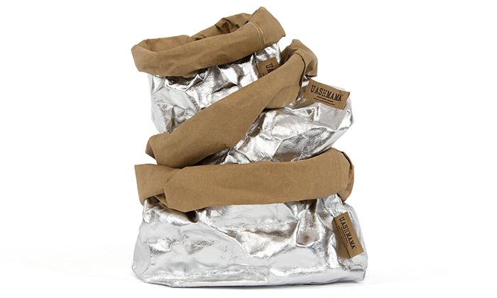 UASHMAMA vyrábí eko tašky zpratelného papíru