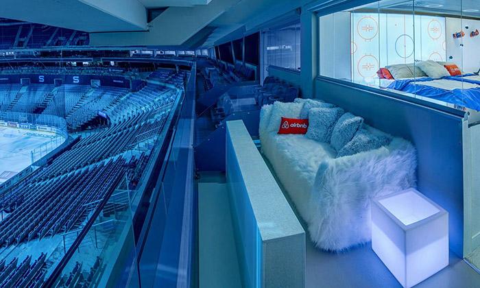 O2 arena vPraze nabízí speciální hokejové apartmá