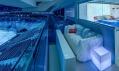 Speciálně upravený Skybox vO2 areně vPraze odAirbnb