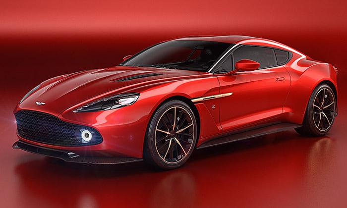 Aston Martin představil Vanquish Zagato Concept