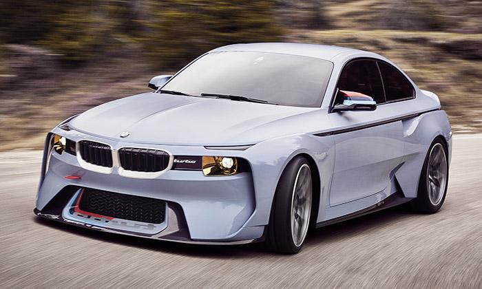 BMW navrhlo kvýročí 50 let koncept 2002 Hommage