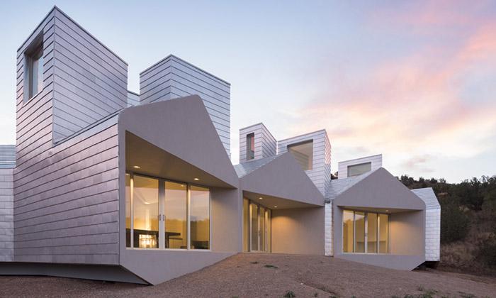 Element House jeekologický modulární dům vpoušti