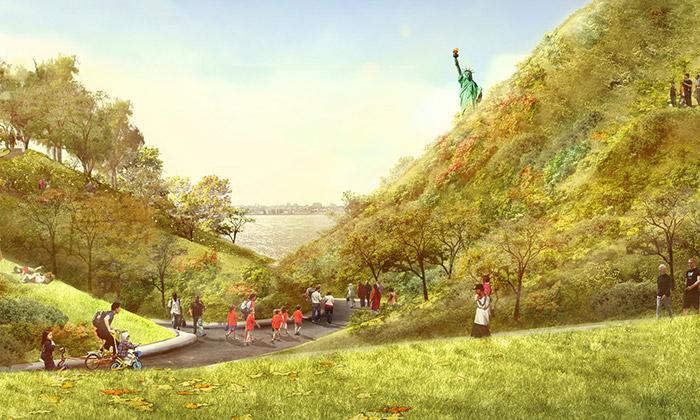 Na ostrově Governors uNew Yorku vyroste nový park
