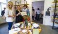 Pohled do expozic designérské přehlídky Prague Design Week 2016