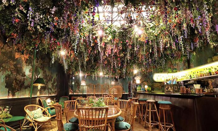 Londýnský restaurant Sketch seproměnil vzahradu