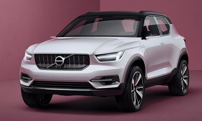 Volvo představilo dva elektrické koncepty 40.1 a40.2