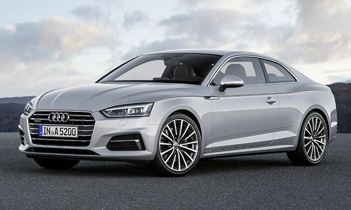 Audi A5 Coupé dostalo nový design ařadu inovací