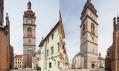 Bílá věž v Hradci Králové po rekonstrukci od Chmelík & partneři