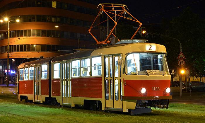 Brno dalo tramvaji K2 původní podobu zroku 1983