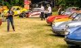 Pohled do areálu motoristické slavnosti Legendy v Bohnicích