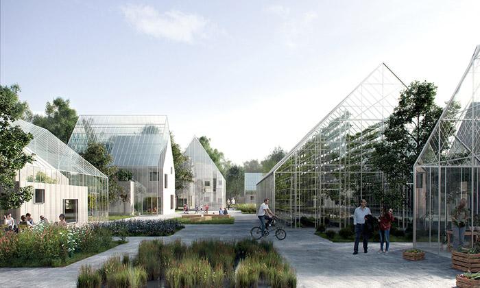 Nizozemsko staví soběstačné vesnice ReGen Villages