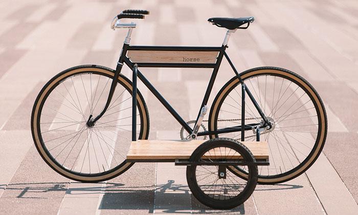 The Sidecar Bicycle jekolo inspirované sajdkárou