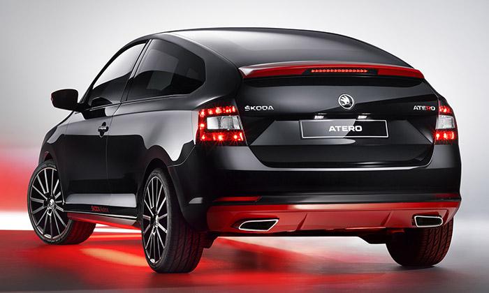 Čeští studenti navrhli kompaktní kupé Škoda Atero