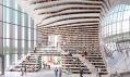 Knihovna Tianjin Binhai Library od MVRDV