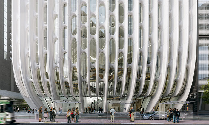 Melbourne postaví mrakodrap vdesignu Zahy Hadid