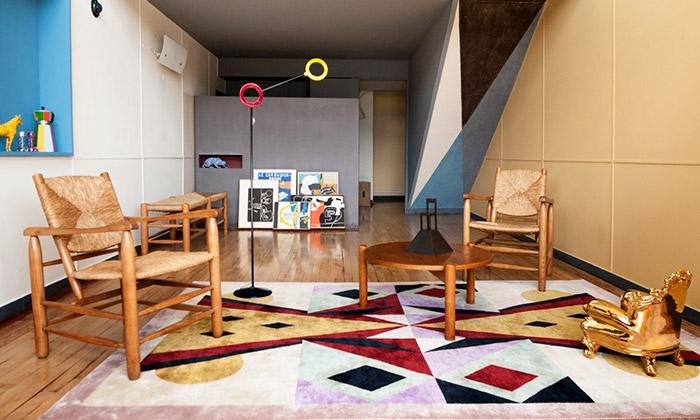 Mendini navrhl interiér apartmánu odLe Corbusiera