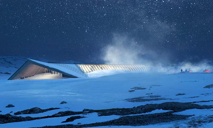 Grónsko postaví výzkumné anávštěvnické centrum