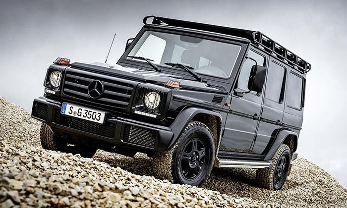 Mercedes-Benz zmodernizoval terénní model G 350