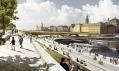 New Slussen Masterplan astudio Foster + Partners pro Stockholm