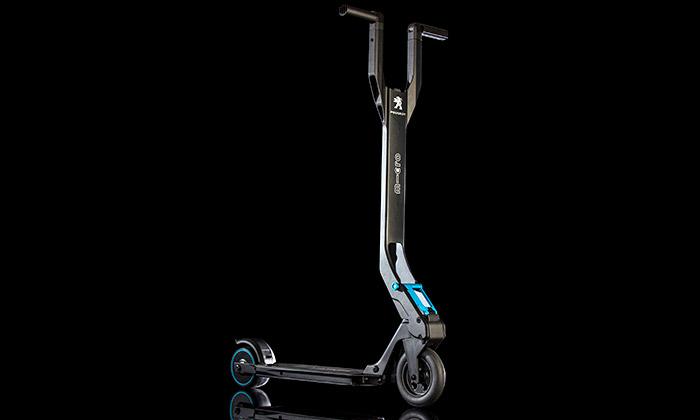 Peugeot aMicro vyrobili elektrickou koloběžku e-Kick