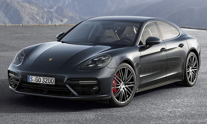 Porsche Panamera na rok 2017