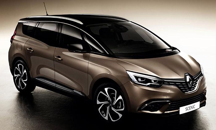 Renault představil nový až sedmimístný Grand Scenic