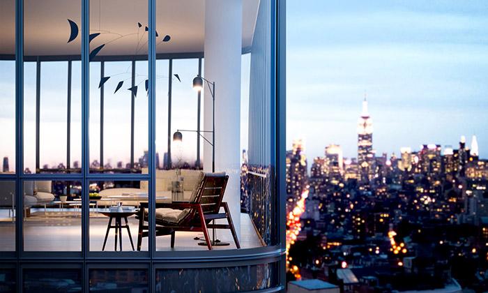 Renzo Piano navrhl rezidenci 565 Broome SoHo
