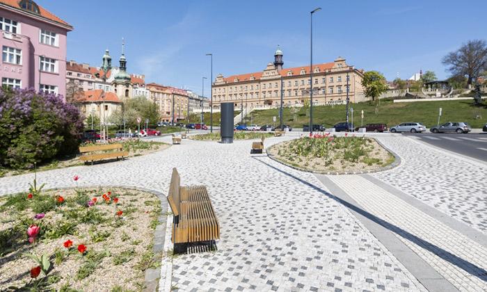 Praha 10 sechlubí revitalizací vulici Moskevská