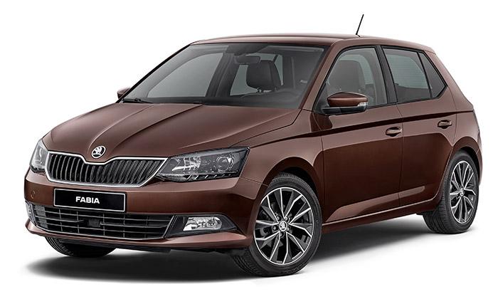 Škoda Fabia navržena vlimitované edici Kofola