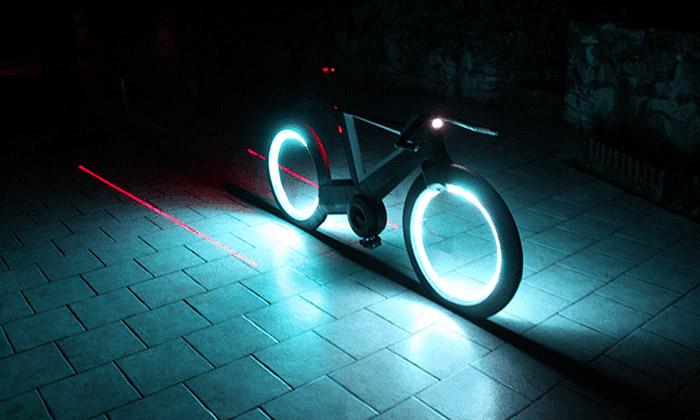 The Cyclotron Bike má být revoluční svítící jízdní kolo