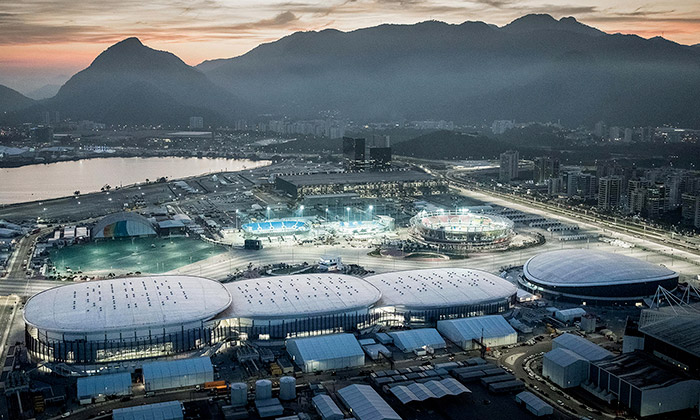 Olympijský park vRiu zdobí stadiony Arenas Cariocas