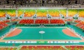 Stadiony Arenas Cariocas v Rio de Janeiro od WilkinsonEyre