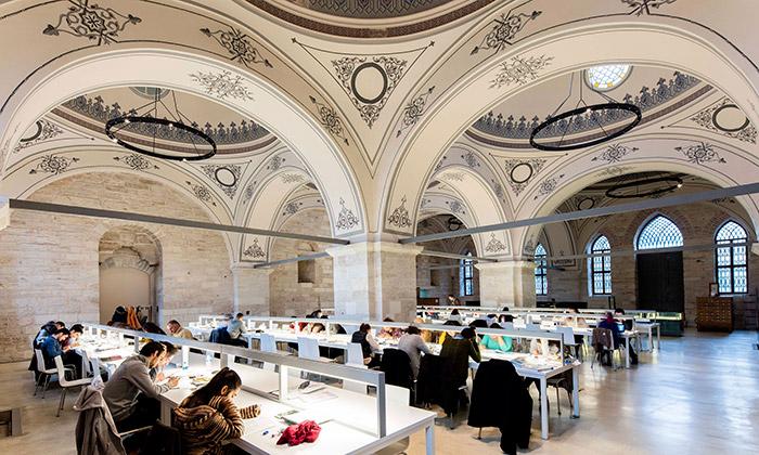 Istanbul zmodernizoval historickou knihovnu Beyazit