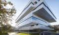 Dominion Office Building od Zahy Hadid v Moskvě