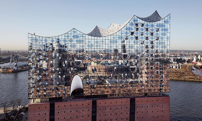 Elbphilharmonie vHamburku seotevře vlednu 2017