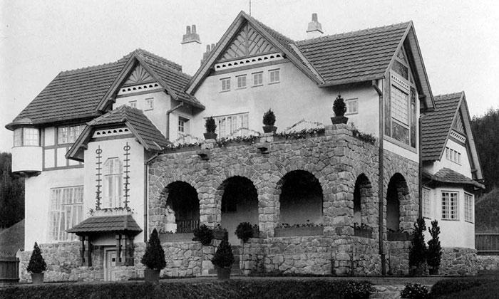 Jurkovičova vila vBrně slaví vsrpnu výročí 110 let