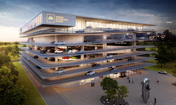 V Praze má vyrůst Národní motoristické muzeum