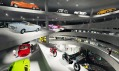 Národní motoristické muzeum na vizualizaci