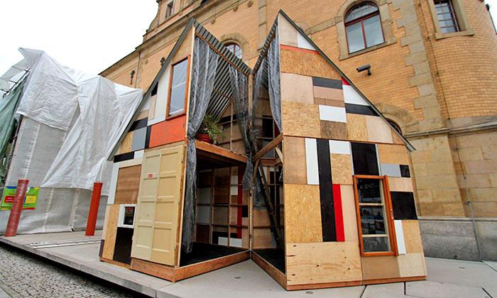 Liberec ukazuje největší Punk včeské architektuře