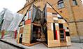 Ukázka zvýstavy Punk včeské architektuře vOblastní galerii Liberec