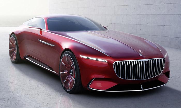 Mercedes-Maybach 6 jezdařilá vize luxusního kupé