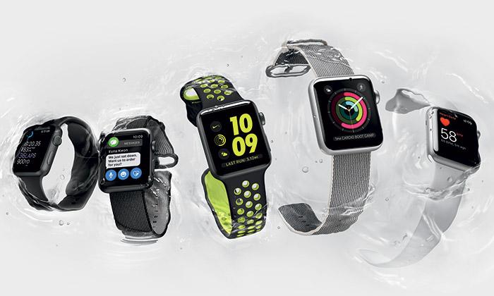 Apple uvedl nové vodotěsné hodiny Watch Series 2