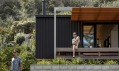 Offset Shed House na Novém Zélandu od Irving Smith Architects