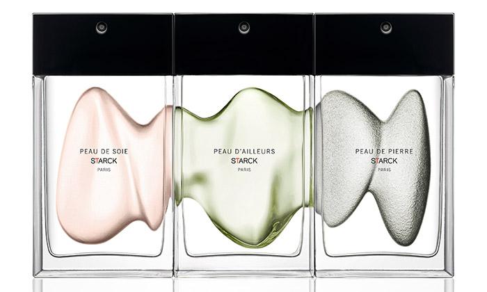 Philippe Starck si navrhl vlastní kolekci tří parfémů