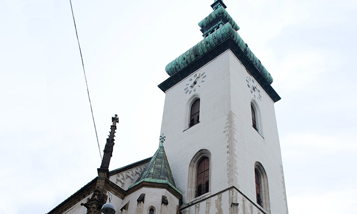 Brněnský kostel svatého Jakuba prošel rekonstrukcí